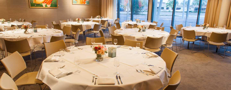 DoubleTree by Hilton Hotel Amsterdam– NDSM Wharf, Niederlande– Tische bei einer Veranstaltung