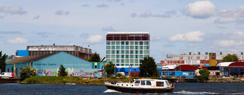 DoubleTree by Hilton Hotel Amsterdam– NDSM Wharf, Niederlande– Ruhige Lage am Wasser