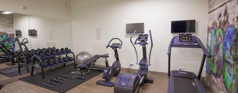 DoubleTree by Hilton Hotel Amsterdam– NDSM Wharf, Niederlande– Kostenfreies 24 Stunden Fitnesscenter
