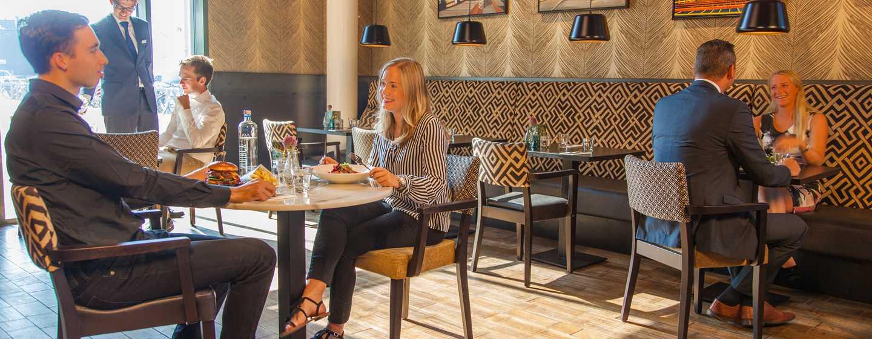 DoubleTree by Hilton Hotel Amsterdam– NDSM Wharf, Niederlande– Restaurant Brooklyn