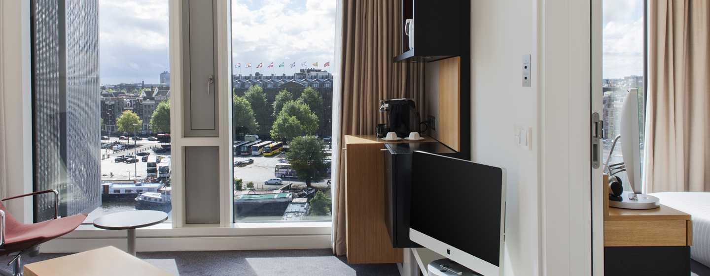Die Junior Suite ist mit Apple-iMac-Fernseher ausgestattet