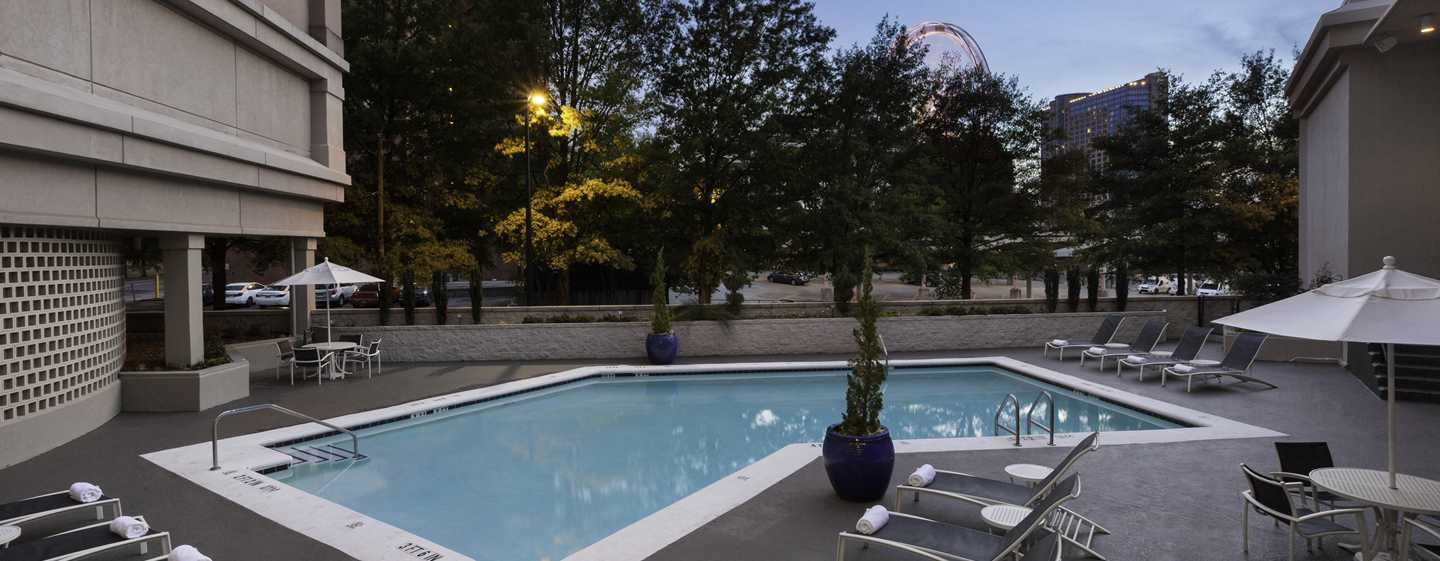 The American Hotel Atlanta Downtown – a DoubleTree by Hilton, USA – Swimmingpool