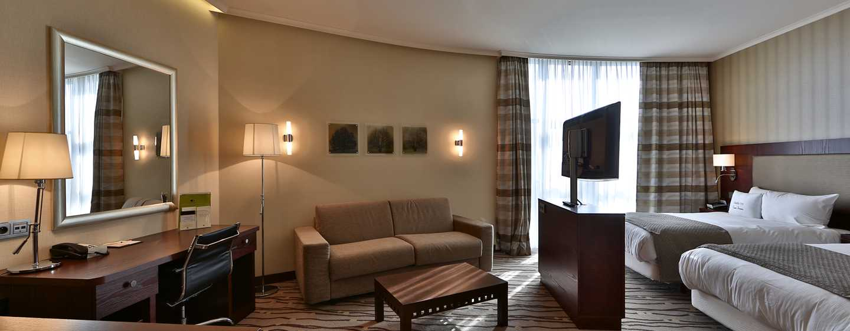 DoubleTree by Hilton Hotel Bratislava, Slowakei– Deluxe Zimmer mit zwei Einzelbetten