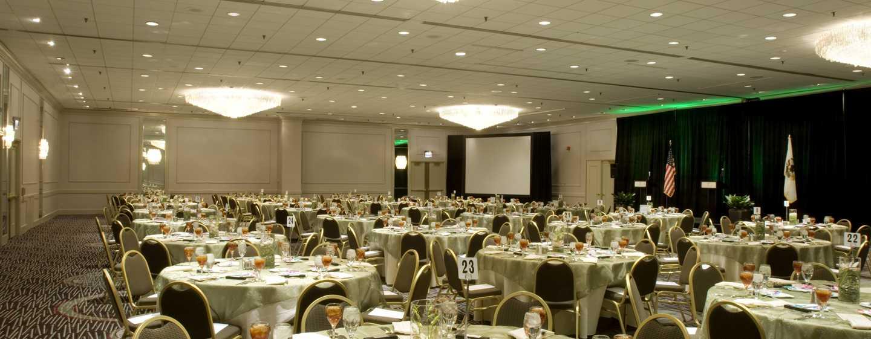 Doubletree Hotel Chicago Magnificent Mile, USA – Lasalle Ballroom Essbereich