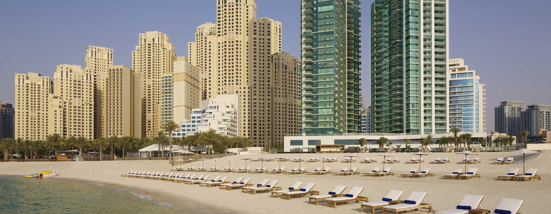 DoubleTree by Hilton Hotel Dubai Jumeirah Beach, Dubai, VAE– Außenbereich des Hotels