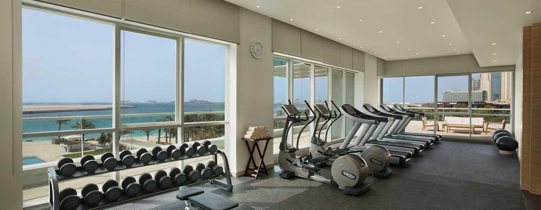 DoubleTree by Hilton Hotel Dubai Jumeirah Beach, Dubai, VAE– Fitnesscenter