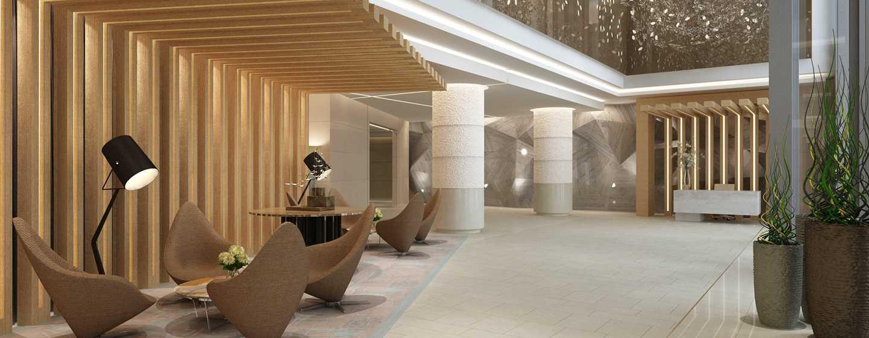 DoubleTree by Hilton Hotel Dubai Jumeirah Beach, Dubai, VAE– Lobby