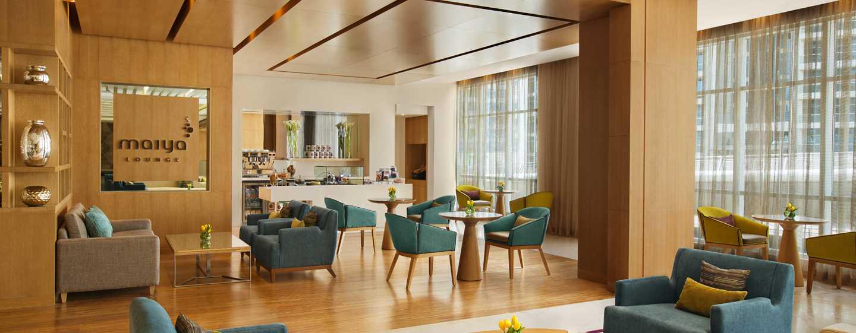 DoubleTree by Hilton Hotel Dubai Jumeirah Beach, Dubai, VAE– Maiya Lounge