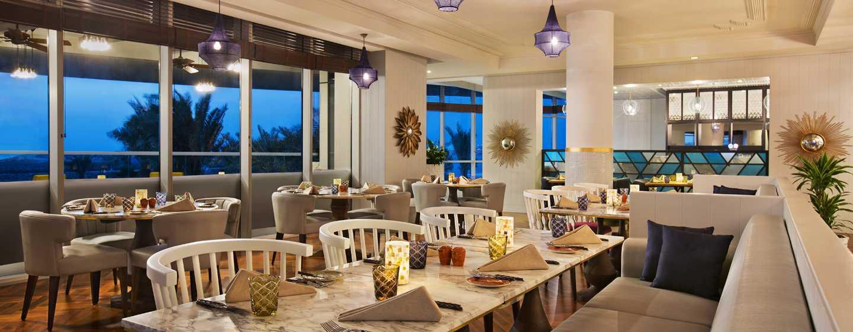 DoubleTree by Hilton Hotel Dubai Jumeirah Beach, Dubai, VAE– Restaurant