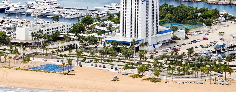 Bahia Mar Fort Lauderdale Beach - a DoubleTree by Hilton Hotel, USA– Ansicht des Komplexes