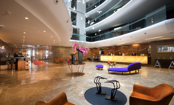 DoubleTree by Hilton Hotel Istanbul – Old Town Hotel, Türkei – Lobby