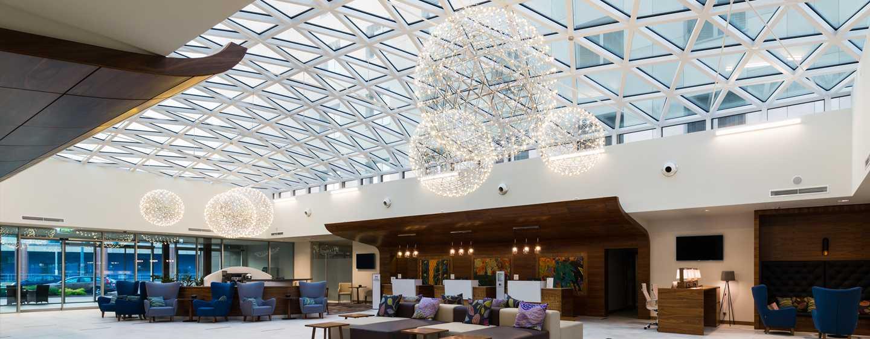 DoubleTree by Hilton Krakow Hotel &Convention Center, Polen– Hotel-Lobby