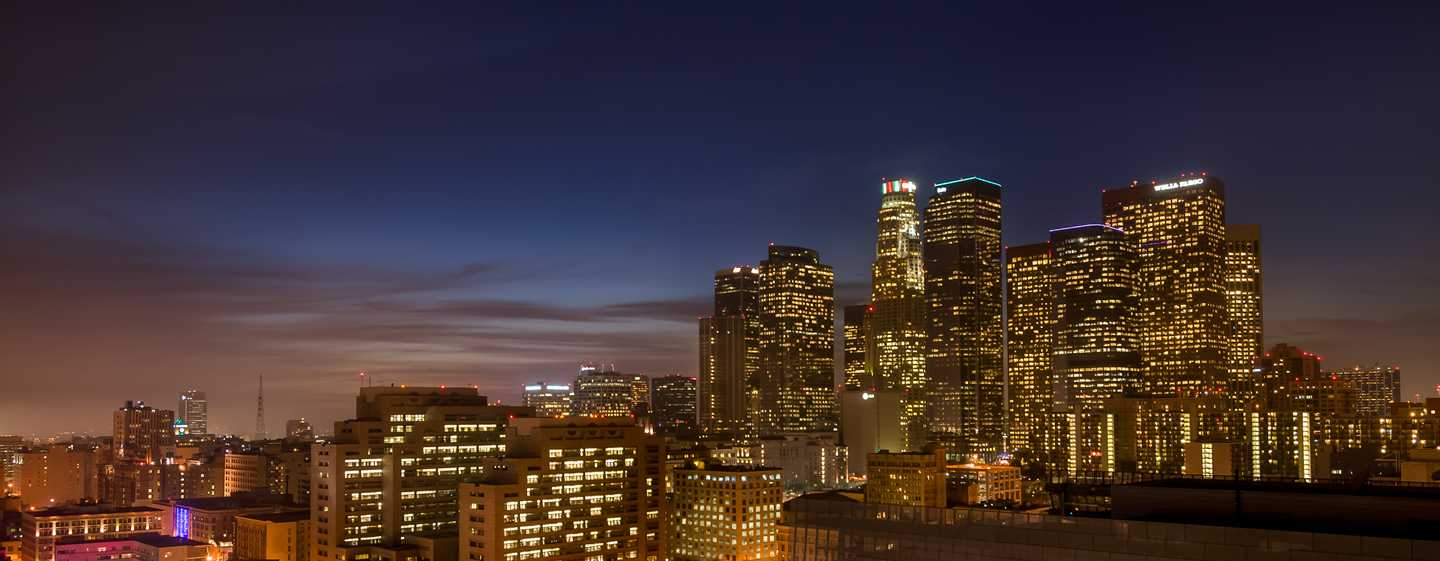 DoubleTree by Hilton Hotel Los Angeles Downtown, Vereinigte Staaten - Blick vom Dach des Hotels