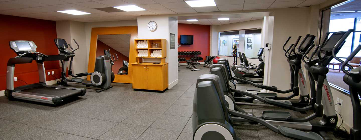 DoubleTree by Hilton Hotel Los Angeles Downtown, Vereinigte Staaten - Fitness Center