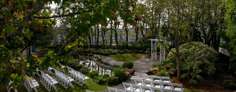 DoubleTree by Hilton Hotel Los Angeles Downtown, Vereinigte Staaten - Hochzeitszeremonie im Freien