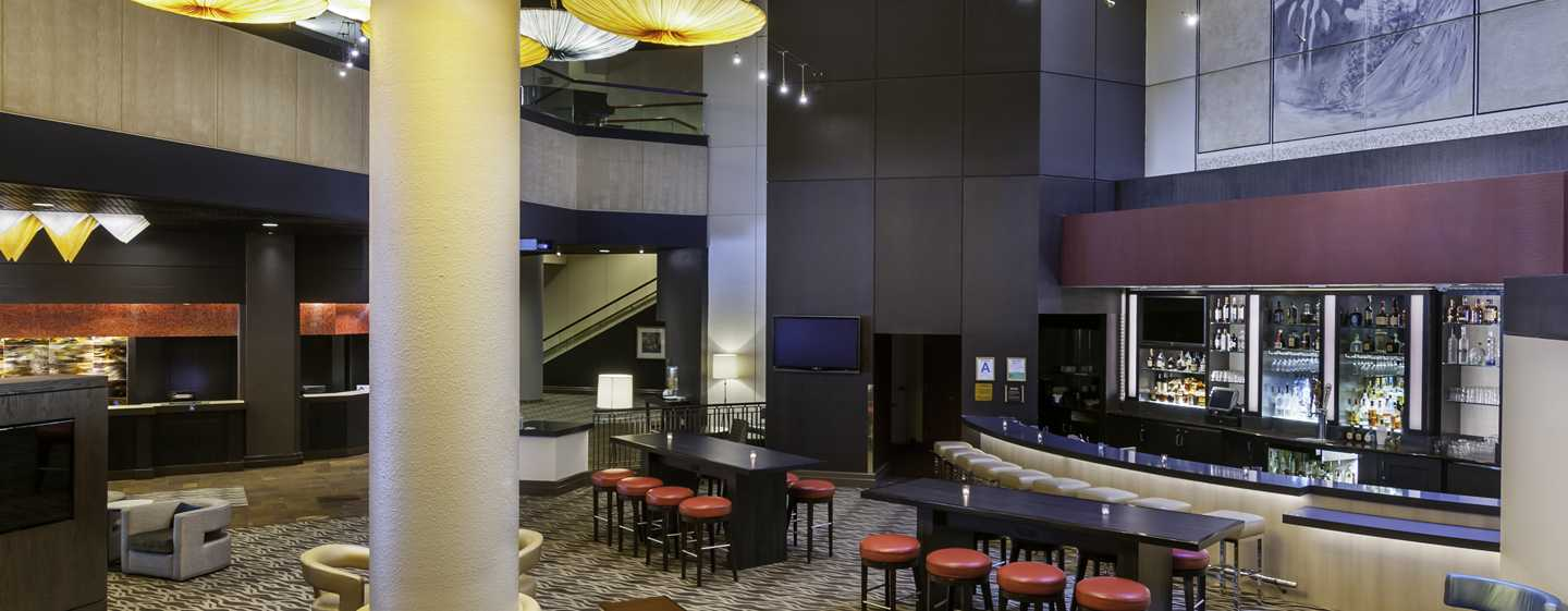 DoubleTree by Hilton Hotel Los Angeles Downtown, Vereinigte Staaten - Rendezvous Lounge