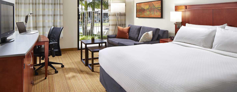 Hotel MdR Marina del Rey - a DoubleTree by Hilton, Kalifornien, Vereinigte Staaten - Zimmer mit King-Size-Bett