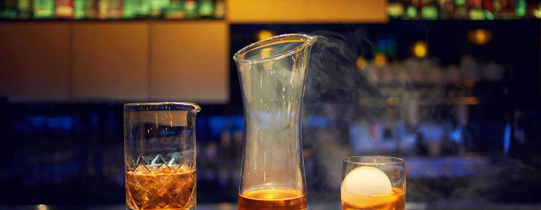 DoubleTree by Hilton Hotel Lodz, Polen– Whiskygläser