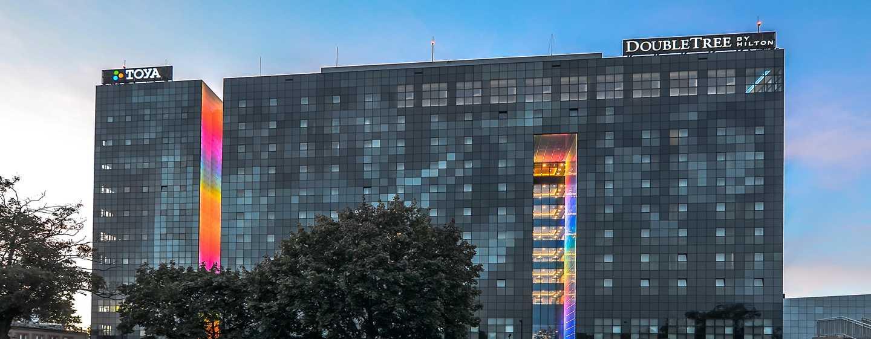 DoubleTree by Hilton Hotel Lodz, Polen– Außenbereich des Hotels