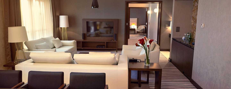 DoubleTree by Hilton Hotel Lodz, Polen– Wohnbereich der Suite