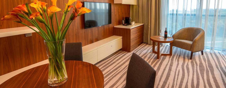 DoubleTree by Hilton Hotel Lodz, Polen– Wohnzimmer der Suite