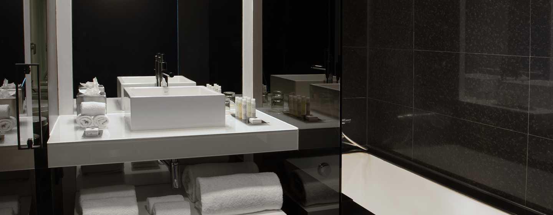 DoubleTree by Hilton Hotel Lisbon– Fontana Park, Portugal– Badezimmer