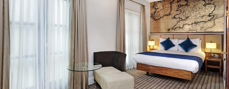 DoubleTree by Hilton Hotel London - Docklands Riverside, Großbritannien -Doppelzimmer