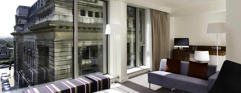 DoubleTree by Hilton Hotel London– Tower of London, Großbritannien– City Suite mit King-Size-Bett