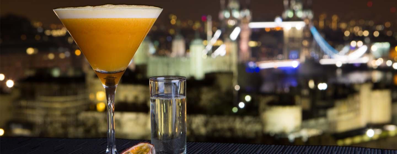DoubleTree by Hilton Hotel London – Tower of London, Großbritannien – Terrasse der SkyLounge