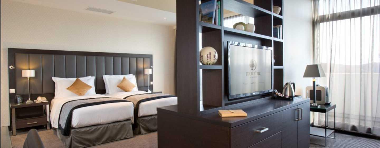 DoubleTree by Hilton Luxembourg, Luxemburg– Deluxe Suite mit zwei Einzelbetten