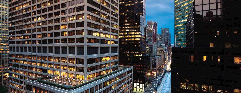 Hotel DoubleTree by Hilton Metropolitan– New York City, NY– Ausblick, Lexington Avenue