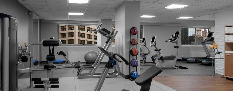 Hotel DoubleTree by Hilton Metropolitan– New York City, NY– Fitnesscenter