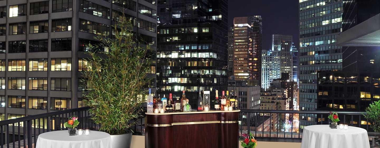 Hotel DoubleTree by Hilton Metropolitan– New York City, NY– Terrasse