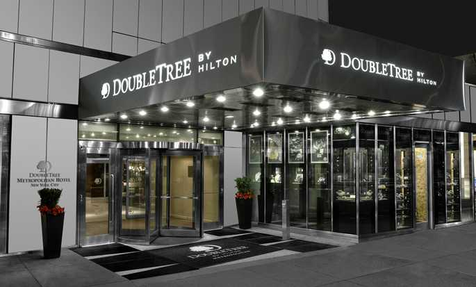 Hotel DoubleTree by Hilton Metropolitan – New York City, NY – Eingang