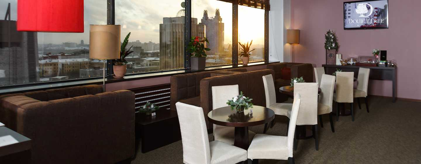 Doubletree By Hilton Novosibirsk Hotel, Russland – Lounge auf dem Executive Floor
