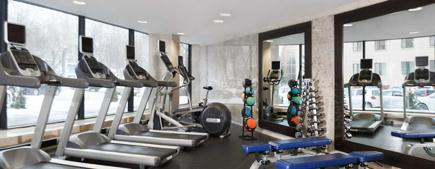Doubletree by Hilton Novosibirsk Hotel, Russland – Fitnessraum