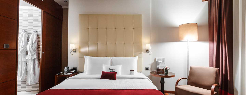 Doubletree by Hilton Novosibirsk Hotel, Russland– Raumplan des Standard Zimmers