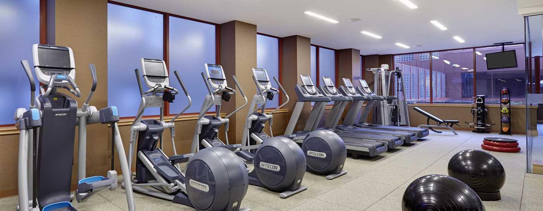 DoubleTree by Hilton Hotel Philadelphia Center City, Pennsylvania, USA– Fitness Center