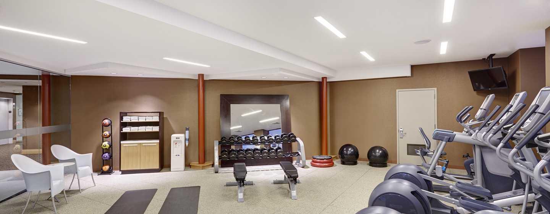 DoubleTree by Hilton Hotel Philadelphia Center City, Pennsylvania, USA– Bereich des Fitness Centers
