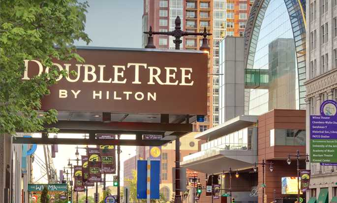 DoubleTree By Hilton Hotel Philadelphia Center City, Pennsylvania, USA – Haupteingang