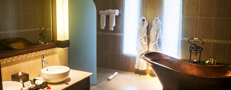 DoubleTree Resort & Spa by Hilton Hotel Seychelles– Allamanda, Seychellen– Badezimmer