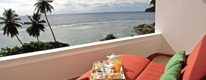 DoubleTree Resort & Spa by Hilton Hotel Seychelles– Allamanda, Seychellen– Balkon