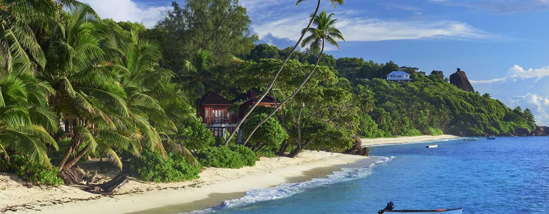 DoubleTree Resort & Spa by Hilton Hotel Seychelles– Allamanda, Seychellen– Strand