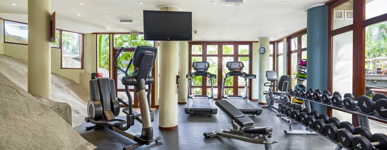 DoubleTree Resort & Spa by Hilton Hotel Seychelles– Allamanda, Seychellen– Fitnessraum