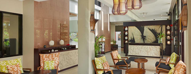 DoubleTree Resort & Spa by Hilton Hotel Seychelles– Allamanda, Seychellen– Empfang