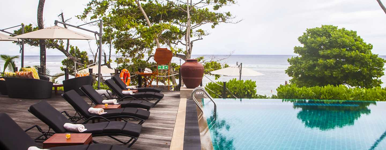DoubleTree Resort & Spa by Hilton Hotel Seychelles– Allamanda, Seychellen– Swimmingpool