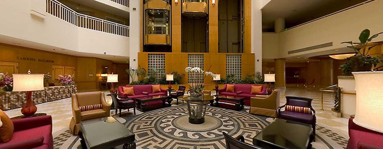 DoubleTree Suites by Hilton Hotel Santa Monica, Kalifornien, USA– Hotel-Lobby