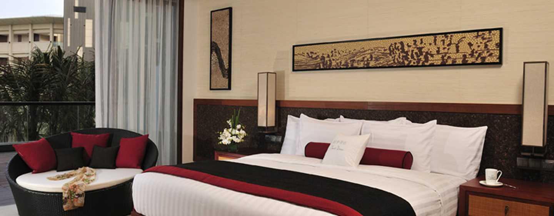 DoubleTree Resort by Hilton Hotel Sanya Haitang Bay, China– Zimmer mit Blick auf den Garten