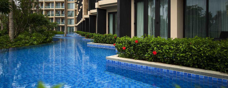 DoubleTree Resort by Hilton Hotel Sanya Haitang Bay, China– Zugang zur Lagune