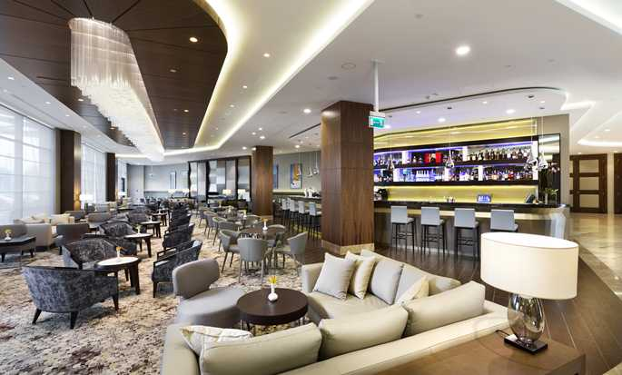 DoubleTree by Hilton Hotel & Conference Centre Warsaw, Poland - Zazen Lounge